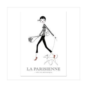 Plagát Leo La Douce Dans La Rue, 21x29,7cm