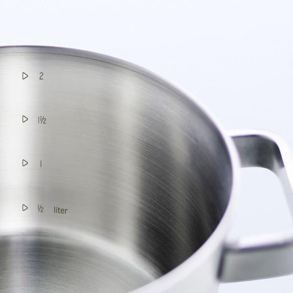 Panvica z nehrdzavejúcej ocele BK Conical+, 16 cm