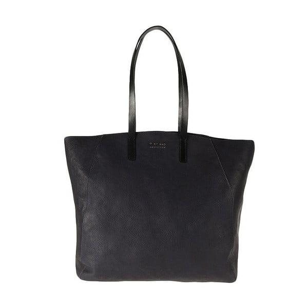 Kožená kabelka O My Bag Jazzy Less, polnočná modrá