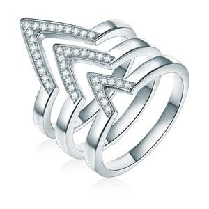 Trojitý prsteň Ines Cavalera Luisa, veľ. 58