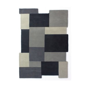 Vlnený koberec Flair Rugs Illusion Collage Odette, 120 x 180 cm