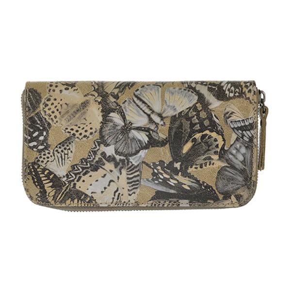 Taupe peňaženka Wendy
