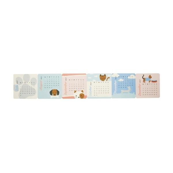 Mini stolový kalendár Busy B Cute 2017