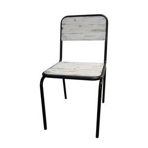 Jedálenská stolička Antic Line Industrielle Blanc