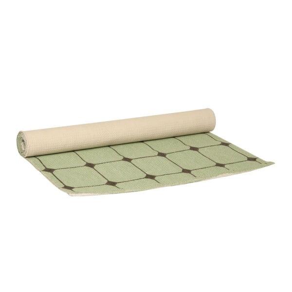 Koberec Tiles Grey Jade, 140x70 cm