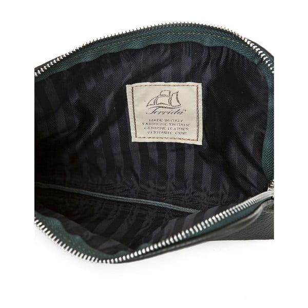Listová kabelka Ella Dark Green
