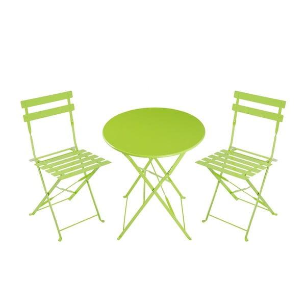 Skladacia stolička Avila Green, 77x45x40 cm