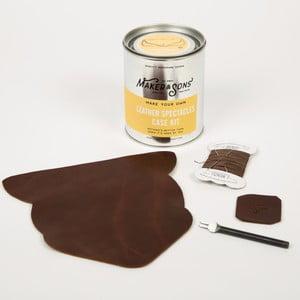 Sada na výrobu koženého puzdra na okuliare Men's Society DIY