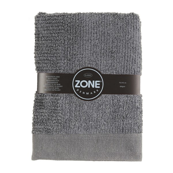 Sivá osuška Zone Nova, 140 x 70 cm