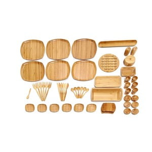 Bambusový raňajkový set Bambum Ikon