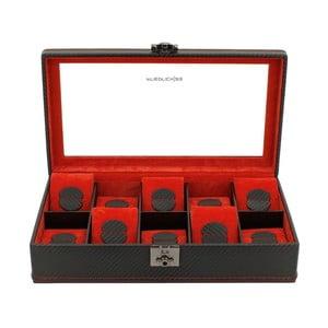 Krabička na hodinky Carbon 10 Black