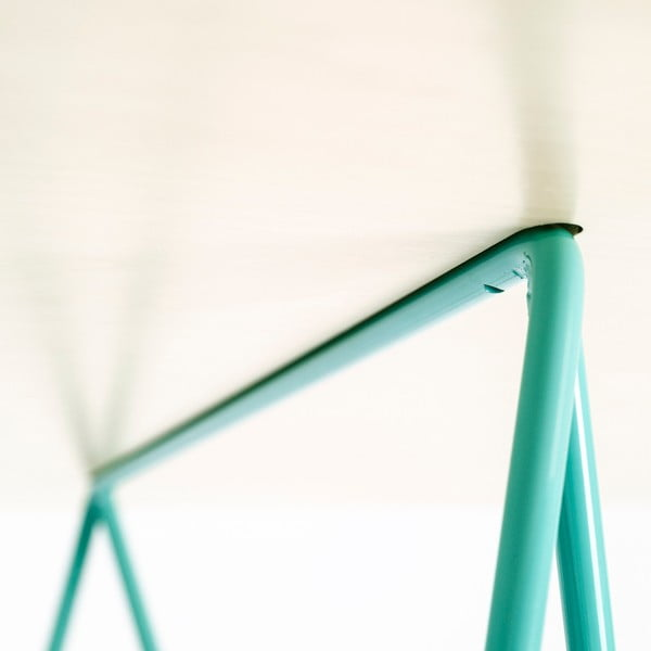 Doska stolu Studio - bielené drevo, 130x60 cm
