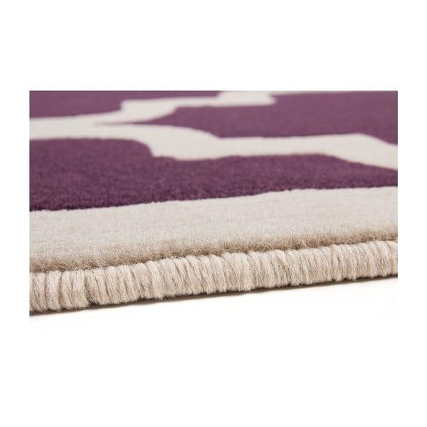 Fialovo-biely koberec Kayoom Maroc 2087 Lila, 160x230cm