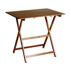 Skladací stôl Valdomo King 60 x 80 cm, orech