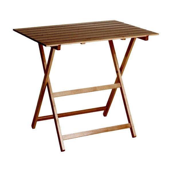 Skladací stôl King 60 x 80 cm, orech