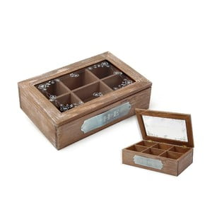 Krabička na čaj The, 24x16 cm
