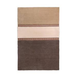 Hnědý koberec EMKO Lietuva, 170x260cm