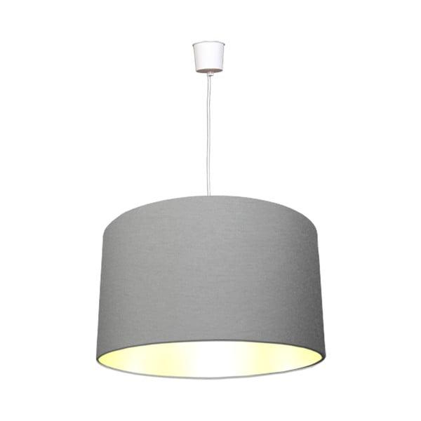 Závesné svietidlo White Inside Three Gray