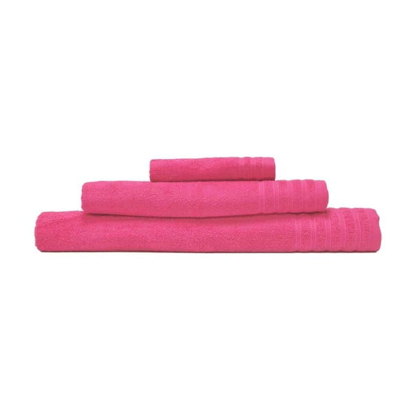Sada 3 uterákov Flamenco Rosa