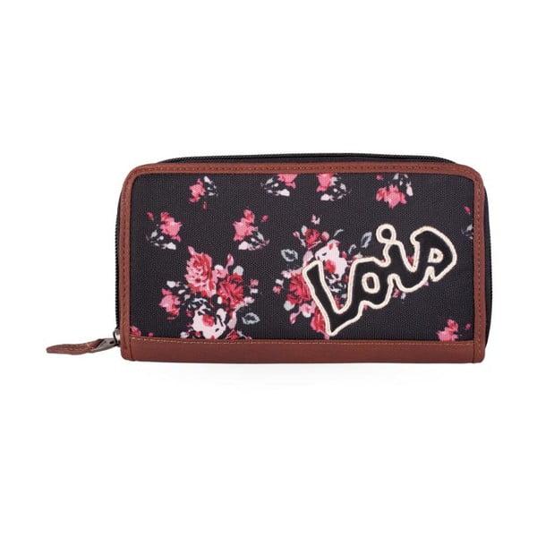 Peňaženka Lois Roses, 19x9 cm
