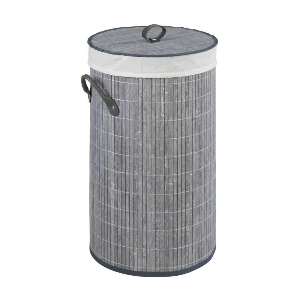 Sivý bambusový kôš na bielizeň Wenko Lilia