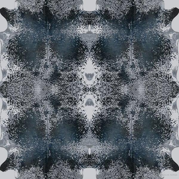 Šatka Happy Cow Blue, 130x130 cm