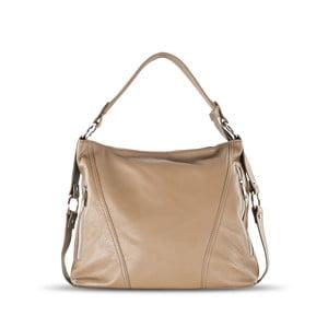 Kožená kabelka Anne, béžová