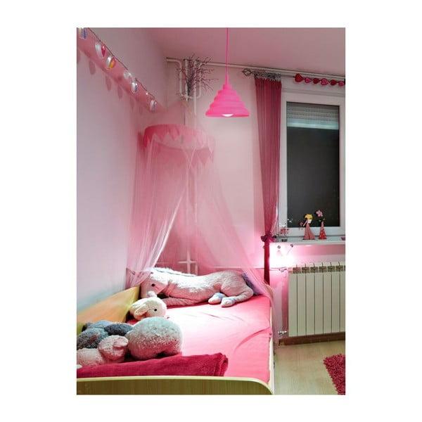 Stropné svetlo Cotra Pink