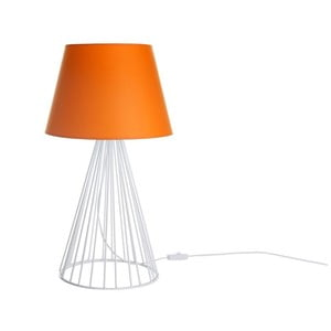 Stolová lampa Wiry Orange/White