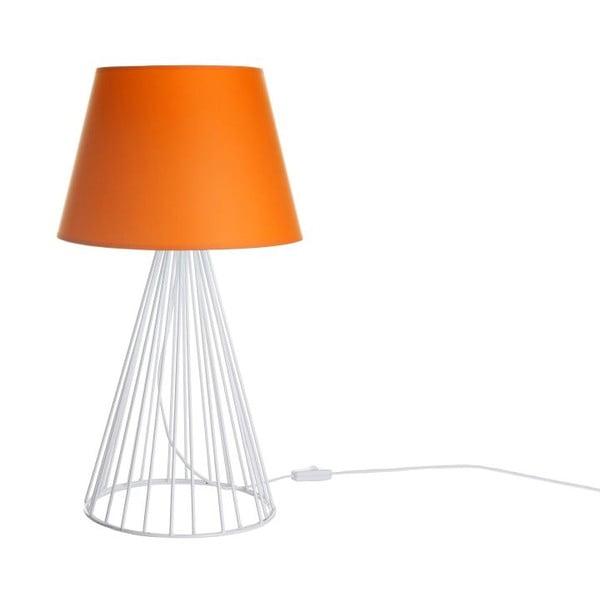 Stolová lampa Wiry Orange/White