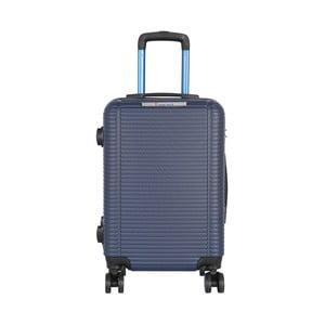 Modrá príručná batožina na kolieskach Travel World Bobby