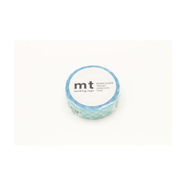Modro-biela washi páska MT Masking Tape Oboro