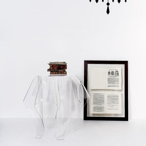 Stolík Drappeggi Tavolino Transparente