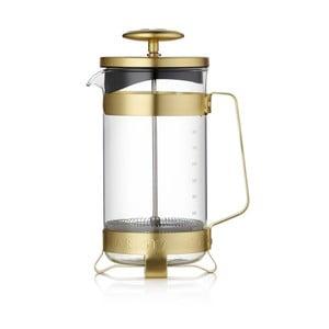 French press v zlatej farbe Barista & Co, 1 l