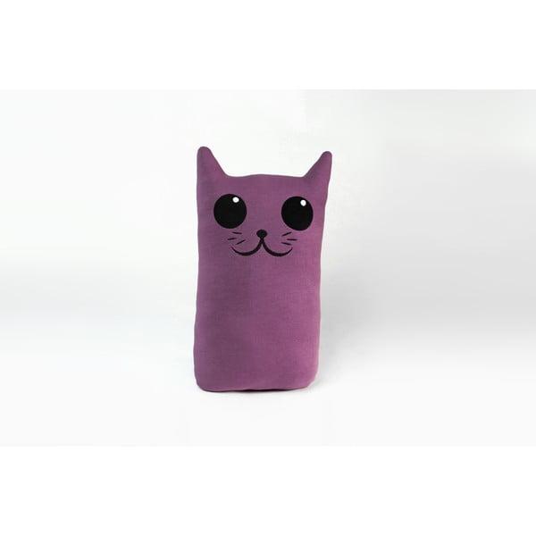 Vankúšik Mačička, fialový