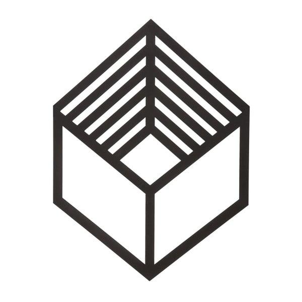 Kovová nástenná dekorácia Cubo