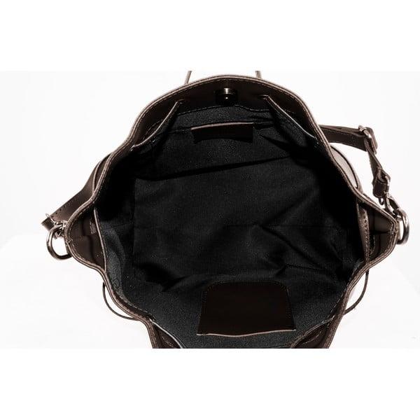 Kožená kabelka Farah, taupe