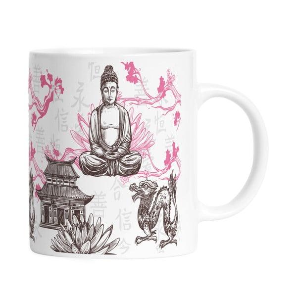Keramický hrnček Butter Kings Buddha, 330 ml