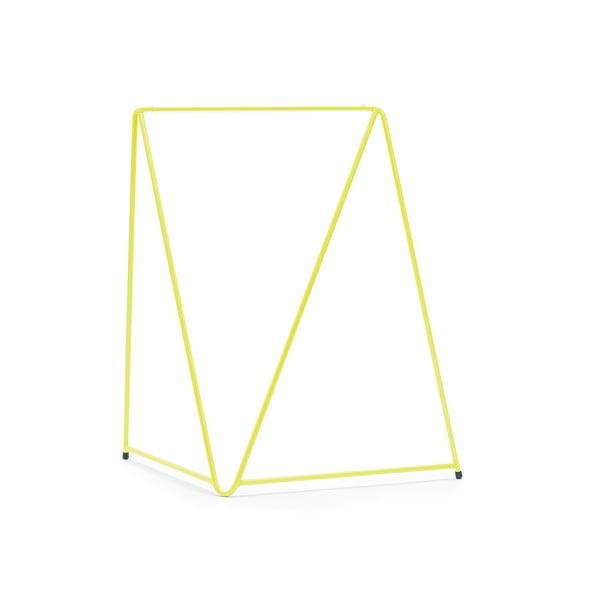 Žltá noha ku stolu Master & Master Diamond, 70x70cm