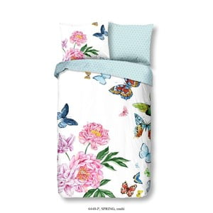 Bavlnené posteľné obliečky Muller Textiels Spring, 140×200 cm