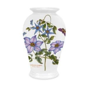Kameninová váza s kvetínami Portmeirion, výška 20 cm