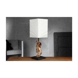 Béžová stolová lampa SOB Ela