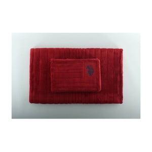Sada 2 kúpeľňových predložiek Joplin Red