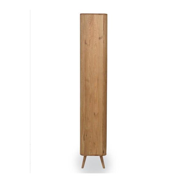 Šatníková skriňa z dubového dreva Gazzda Ena