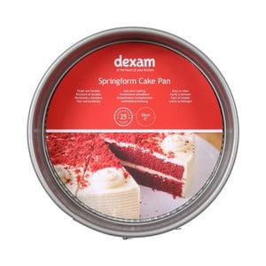 Guľatá forma na pečenie torty s nepriľnavým povrchom Dexam Springform Cake, ø 20 cm