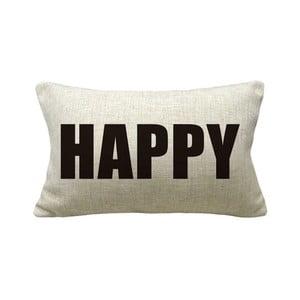 Obliečka na vankúš Happy, 50x30 cm