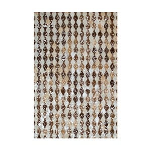 Koberec z pravej kože Sao Paulo Sparkle, 200x300 cm