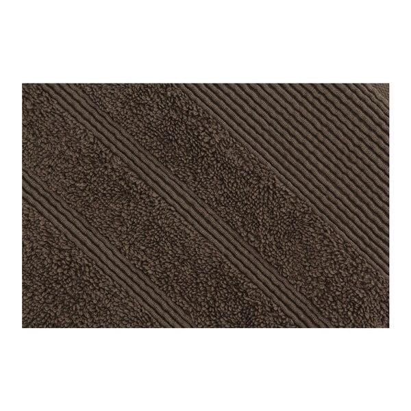 Hnedá osuška Dost, 76x142cm