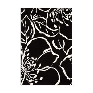 Koberec Saga Black, 80x150 cm