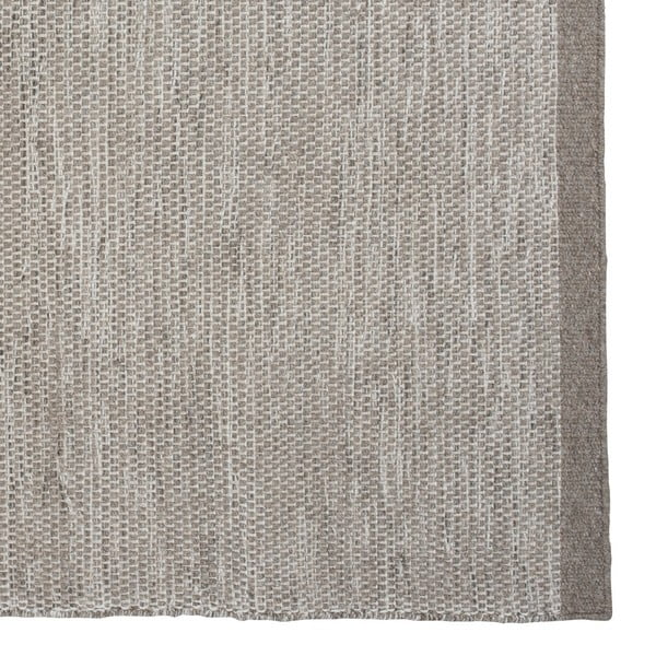 Vlnený koberec Asko, 70x140 cm, svetlosivý